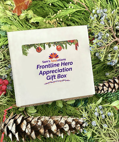 Frontline Hero Appreciation Gift Box - Sam's Soulutions Plant-Based Skincare