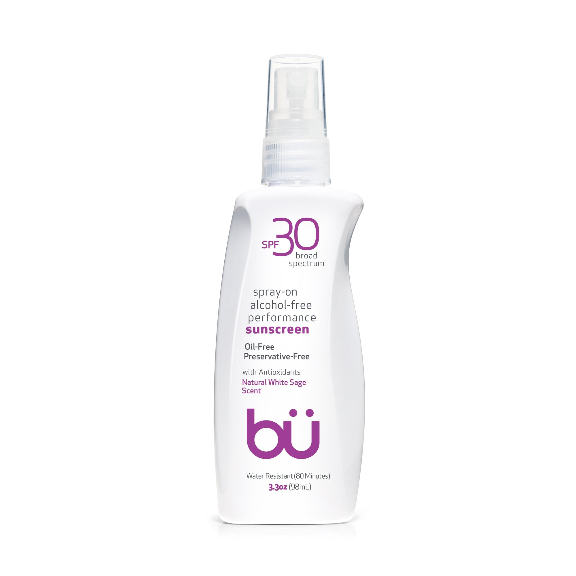 Bu SPF 30 Ultrafine WOWmist Sunscreen - White Sage