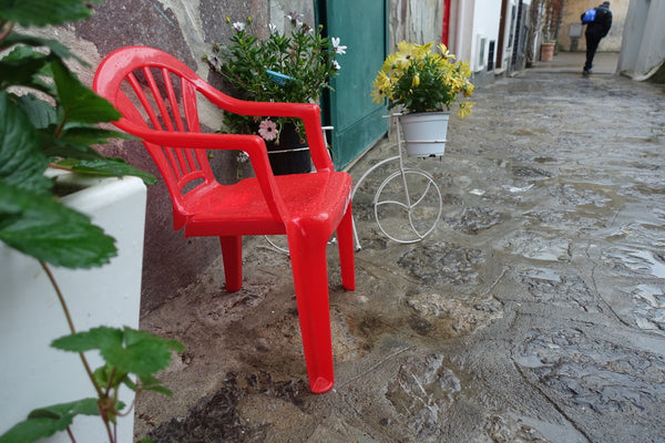 Positano red chair