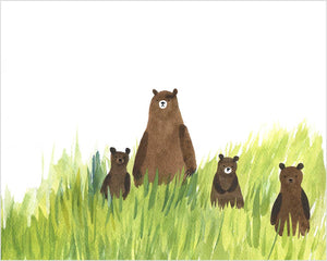 Bears Out For A Stroll