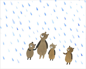 Bears in the Rain