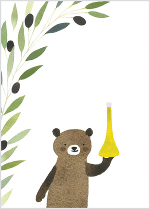 Bear with Olives