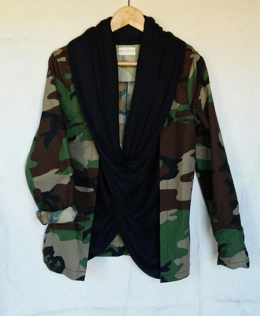 scout camo woven jacket