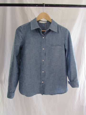 full service chambray l/s woven shirt