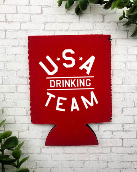 USA Drinking Team Can Cooler