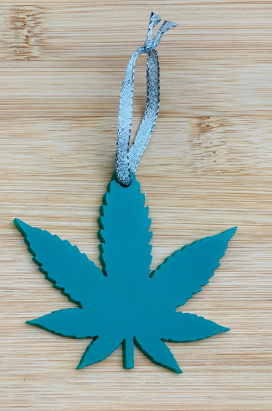 Pot Leaf Ornament, Marijuana Ornament