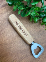 Custom Bottle Opener, Personalized Bottle Cap Opener