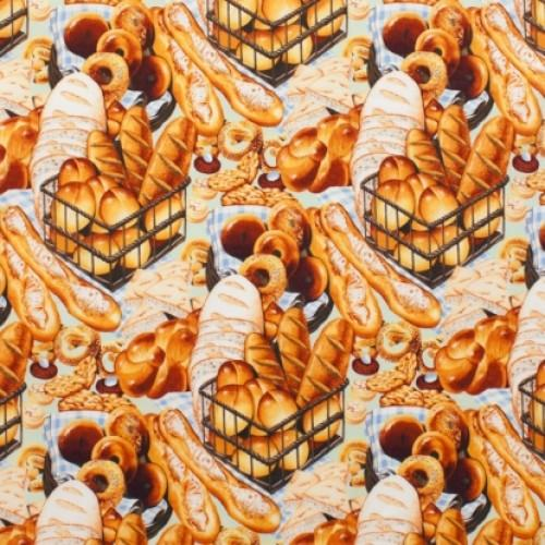 AH Boulangerie 2173 BR - Cotton Fabric