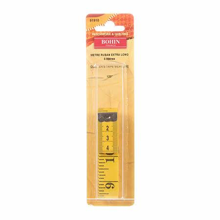 CHK Bohin Quilters Tape Measure 120 Inch - 91910