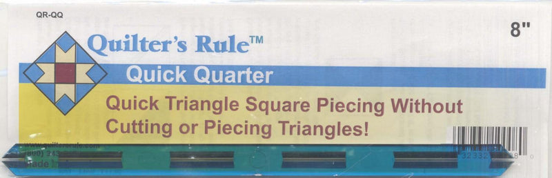 CHK Quilter's Rule Quick Quarter Tool 8 Inch - QR-QQ