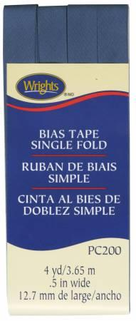 CHK Wrights Single Fold Bias Tape Stone Blue - 117200584