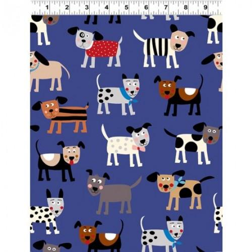 CWRK Playful Pups 2556-31 - Cotton Fabric