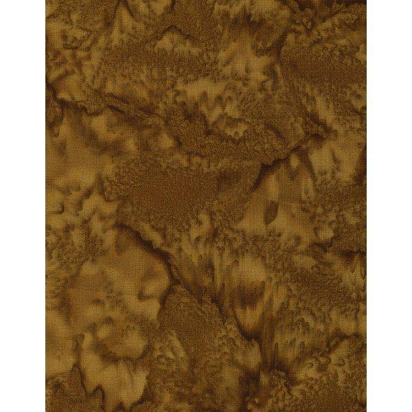 HFF 1895 Bali Watercolors Batik 1895-430-Clove - Cotton Fabric