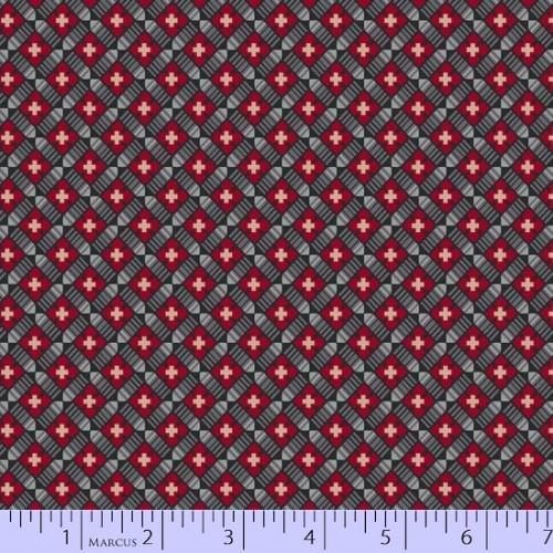 MB Baltimore House 8304-0144 - Cotton Fabric