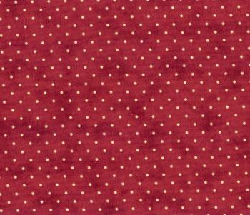 MODA Essential Dots 8654-18 Red - Cotton Fabric