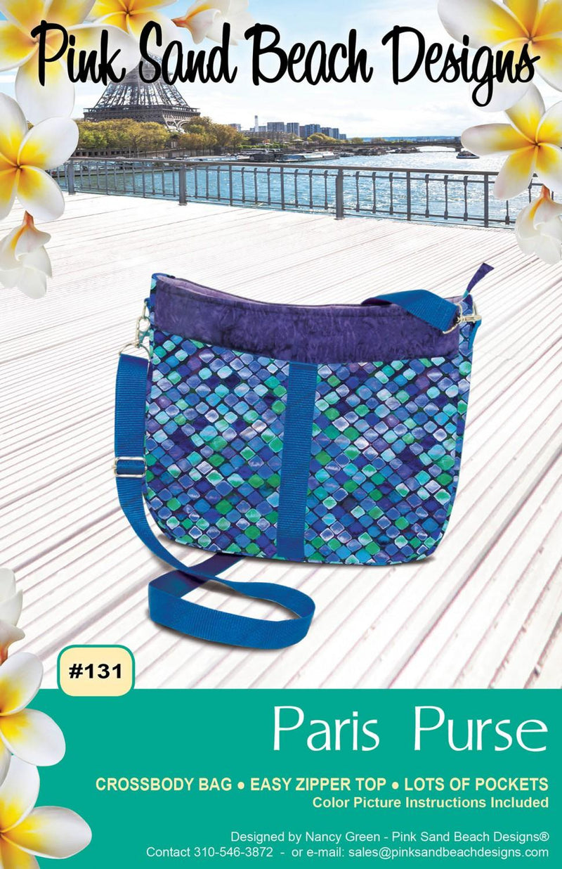 Paris Purse Pattern - 131