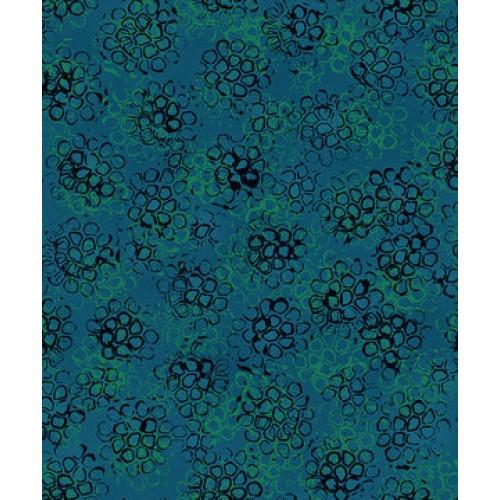 RJR Pollinator 306-AE1 Teal - Cotton Fabric