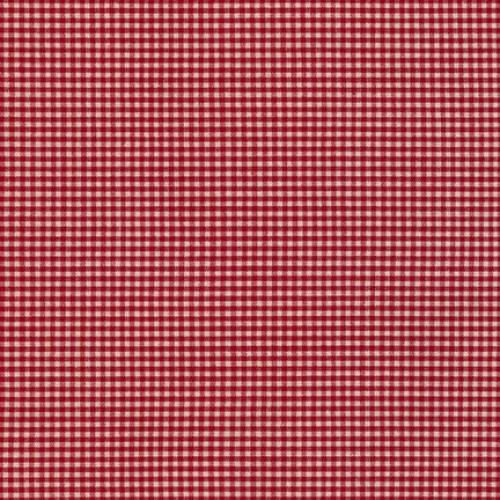 RK Crawford Gingham 14300D1-8 Wine - Cotton Fabric
