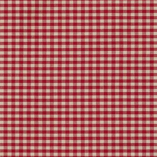 RK Crawford Gingham 14300D2-8 Wine - Cotton Fabric
