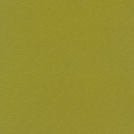 RK Kona Cotton Solids K001-1263 Olive - Cotton Fabric