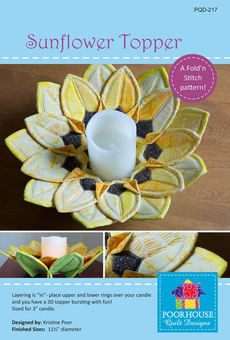 Sunflower Topper Pattern - PQD-217