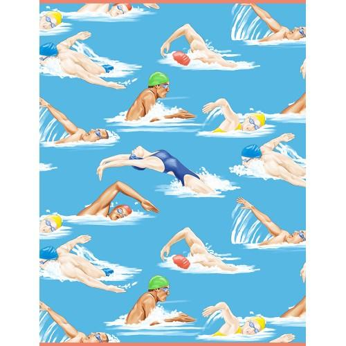 TT Swimmers GM-C6896 - Cotton Fabric