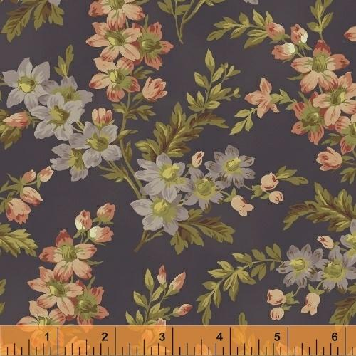 WHM Shiloh 50496-4 Purple - Cotton Fabric