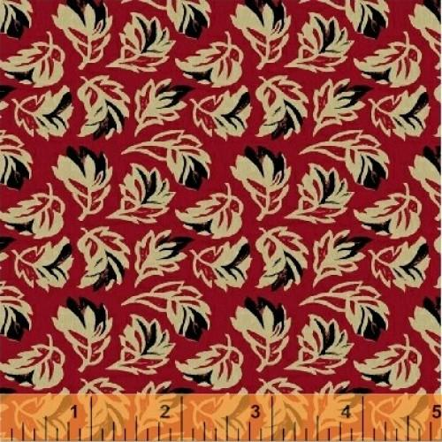 WHM Vivaldi 33461-2 Red - Cotton Fabric