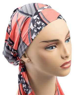 Printed Head Scarf
