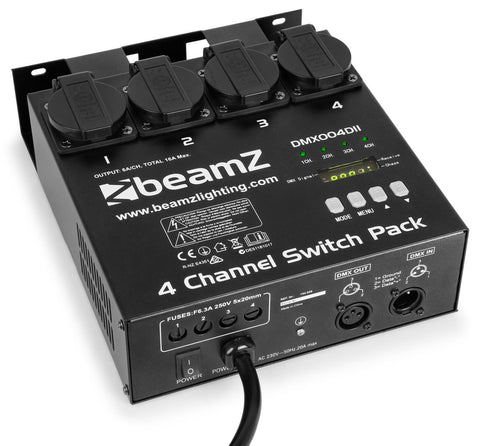 BeamZ 4-Kanal Switchpack / Dimmer