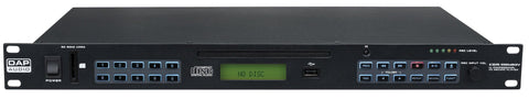 DAP CDR-110 MKIV - 1U CD Player / USB Recorder - Lightronic Showequipment
