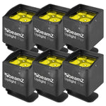 SET: 6x BeamZ BBP44 Mini Outdoor Uplighting Akku Par Scheinwerfer - Lightronic Showequipment