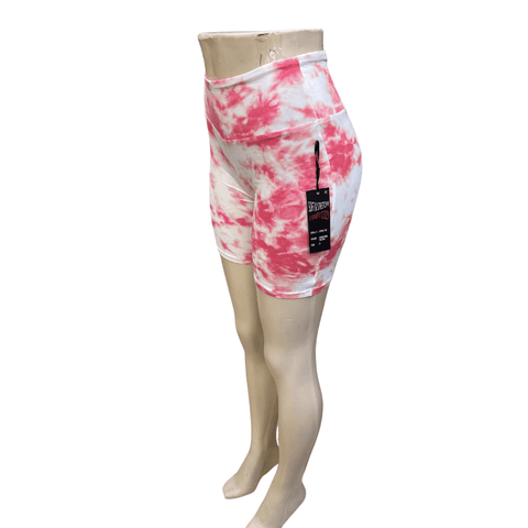 Tie-Dye Bike Shorts 6 Pack (S-M-L-XL, 1-2-2-1)