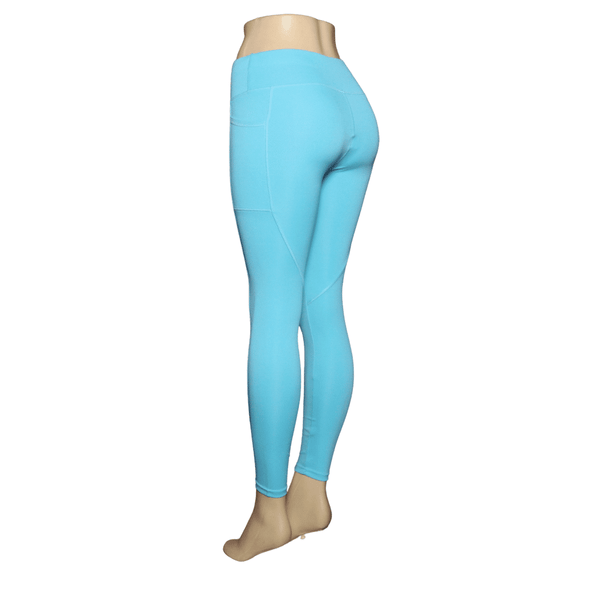 Mike's Special  Solid Color Leggings 6 Pack  (S/M-L/XL, 3-3)