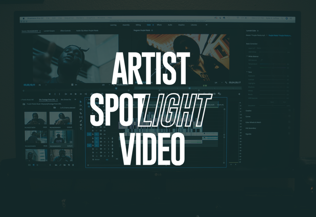 Artist Spotlight Video