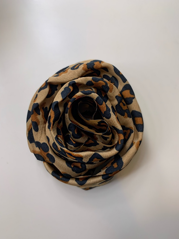 Brown Leopard Bandana