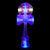 Catchy Kendama White Dama LED with Blue Ken LED