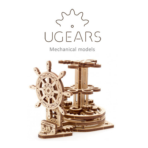 UGears Wheel Organizer Pen Holder