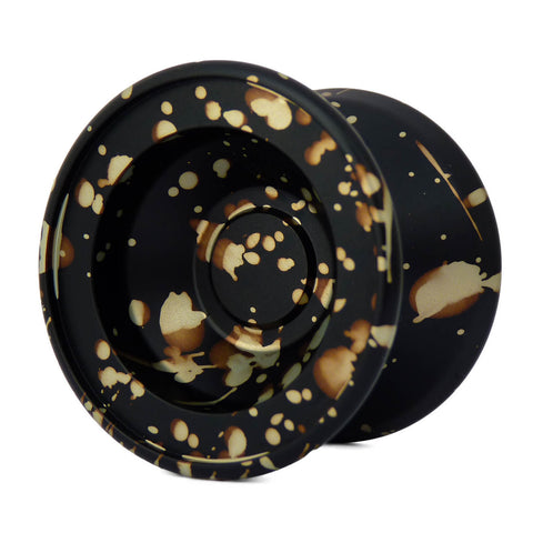 Werrd Tre Yo-Yo Black with Bronze Splash by YoYo Shop Australia