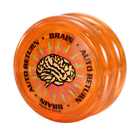 Brain Yo-Yo Orange