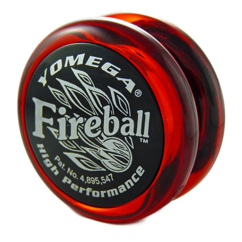 Fireball Red with Black Cap