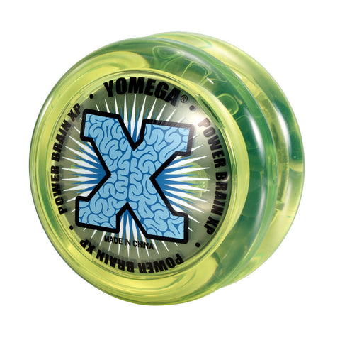 Power Brain XP Yo-Yo Neon Yellow