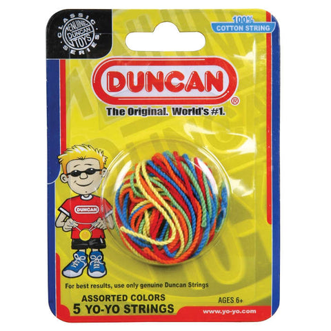 Duncan 100% Cotton String 5 Pack Multi-colour