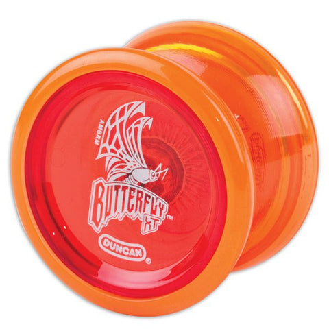 Butterfly XT Yo-Yo Orange / Red Caps