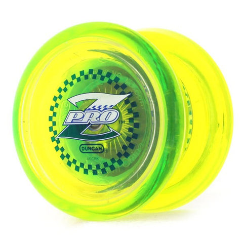 Duncan Pro Z Yo-Yo Yellow / Clear Caps