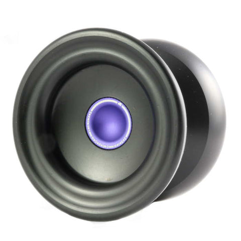 Magic YoYo Delrin Skyva - Black / Purple Finger Cup