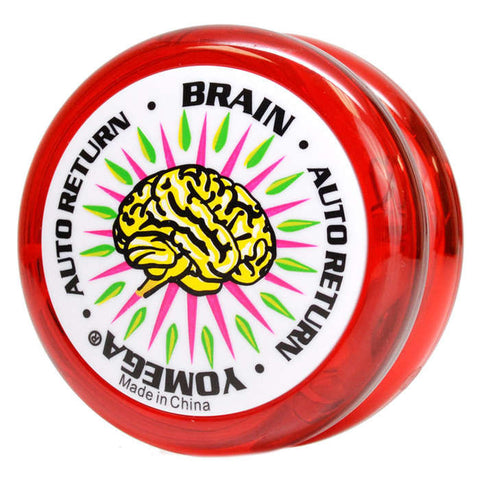 Brain Yo-Yo Red with White Cap