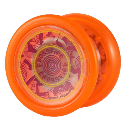 Crossfire Yo-Yo Orange