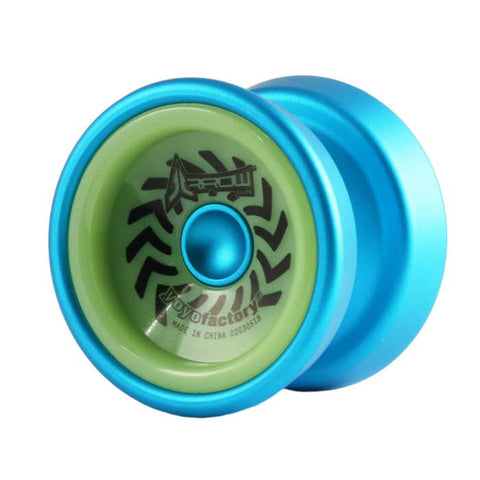 Arrow Metal YoYo Blue