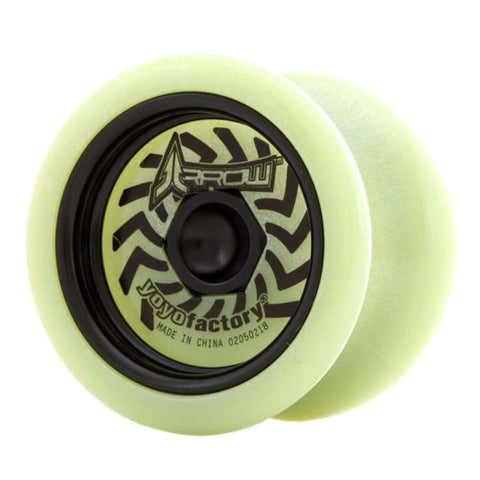 Arrow Metal Weight YoYo Black
